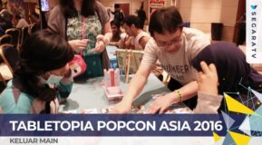 [SEGARA TV] Quick View – Tabletopia in Popcon Asia 2016