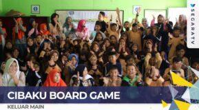 LAWAN PELECEHAN SEKSUAL! Main Cibaku Board Game di Yayasan Ikhlas Salman Al Farisiy