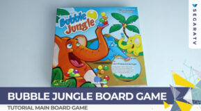 Tutorial Bermain Bubble Jungle Board Game