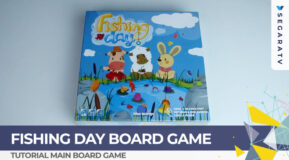 Tutorial Bermain Fishing Day Board Game