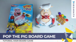Tutorial Bermain Pop The Pig Board Game